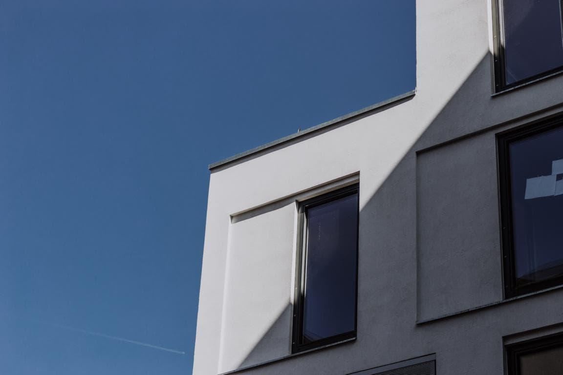 Bodentiefe Fenster in allen Wohneinheiten