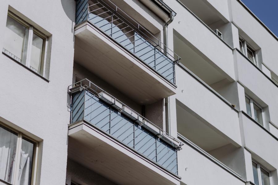 Vor der Sanierung: Mehrfamilienhaus in der Sickingenstraße