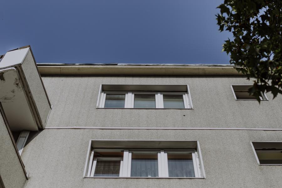 Fassadendetails der Immobilie in Moabit