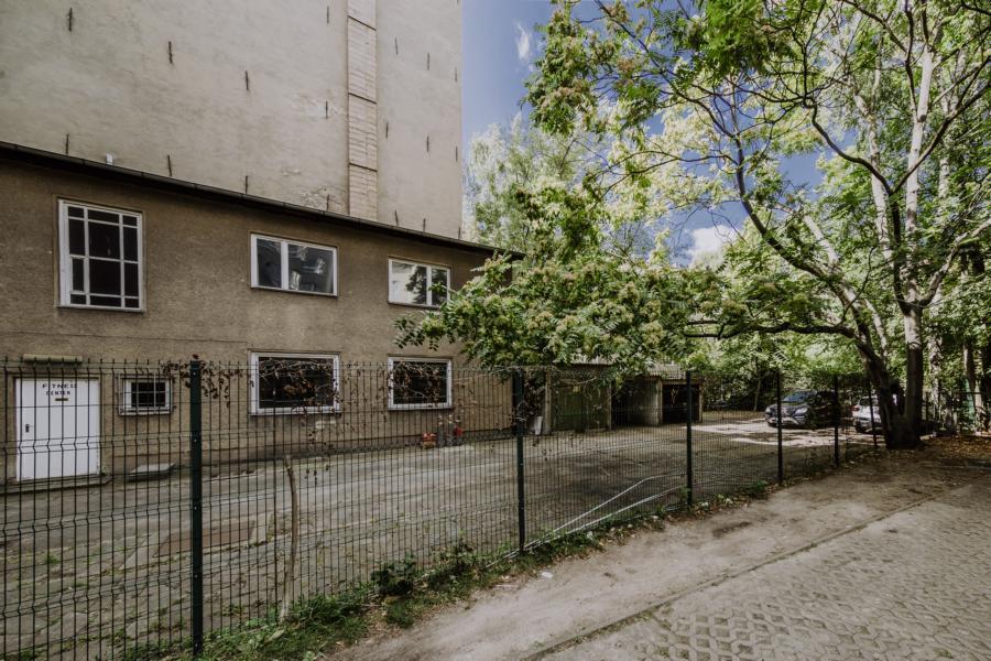 Bauplatz der Remise in Kreuzberg