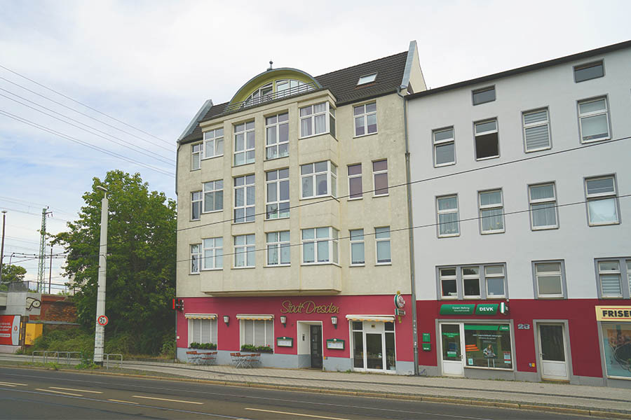 Bestandsimmobilie in Cottbus: Straßenansicht der Straße der Jugend 27