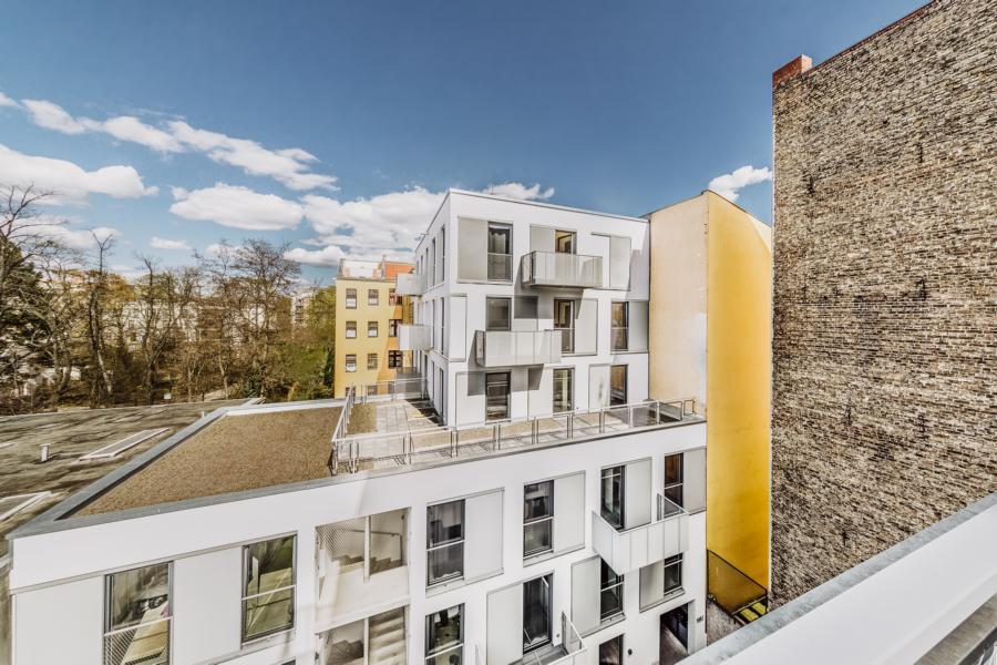 Wohneinheit im Hinterhaus der Müllerstraße 55