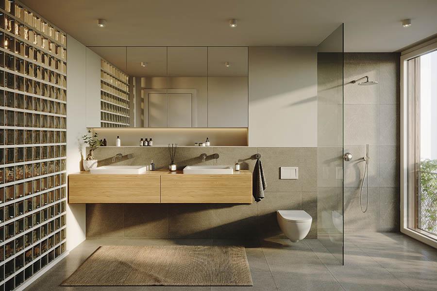Badezimmer in der Immobilie DAHME5